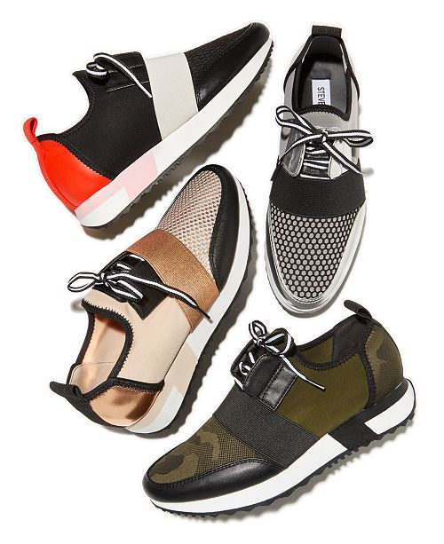 800b7bdd6a9 Steve Madden Antics Jogger Sneakers & Reviews - Athletic Shoes ...