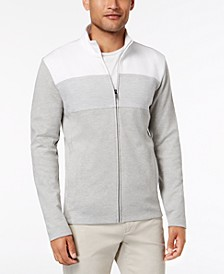 Men's Colorblocked Full-Zip Jacket, Created for Macy's
