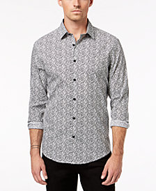 Alfani Men's Geo-Print Shirt, Created for Macy's
