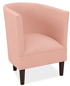Martha Stewart Collection™ Bedford Collection Scarlette Chair, Quick Ship, Created For Macy's