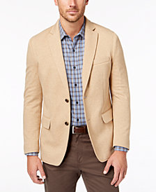 Tasso Elba Men's Emilio Knit Stretch Blazer, Created for Macy's