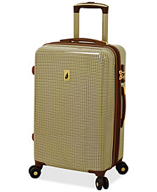 "London Fog Cambridge 21"" Hardside Carry-On Spinner Suitcase"