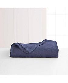 Martex Cotton Diagonal-Weave Full/Queen Blanket