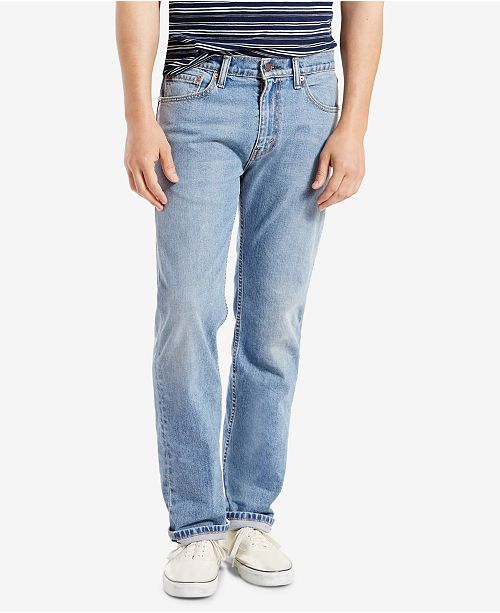 Levi's Men's 505™ Regular Fit Straight Jeans