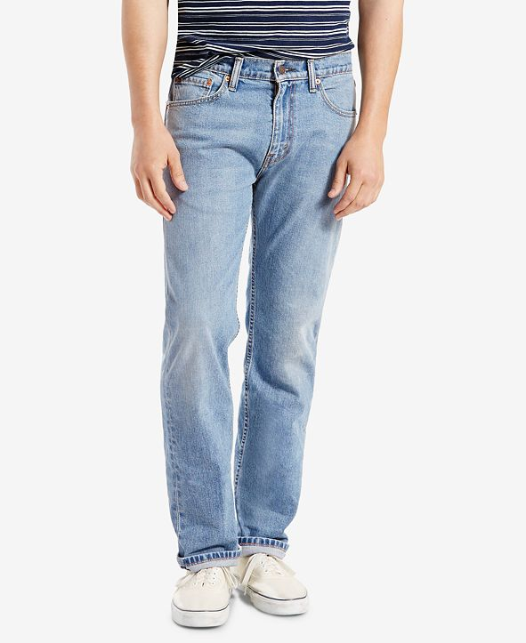 Levi's Men's 505™ Regular Fit Straight Jeans