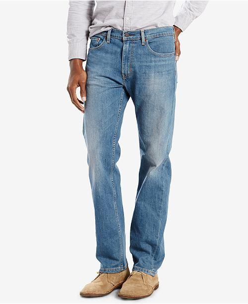 61def8e8997f33 Levi's 505™ Regular Fit Jeans & Reviews - Jeans - Men - Macy's