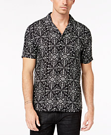 A.I Men's Geometric Shirt
