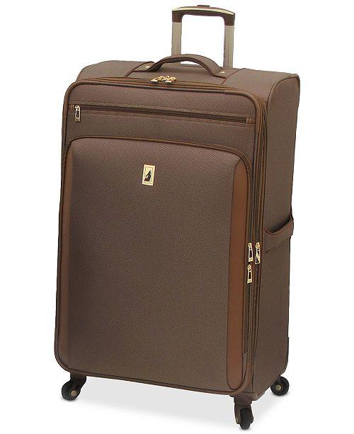 "Leisure London Fog Kensington 29"" Softside Spinner Suitcase"
