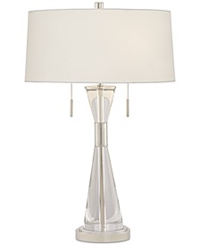 Kathy Ireland Crystal Carriage Table Lamp
