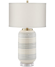 Pacific Coast Striped Adler Table Lamp