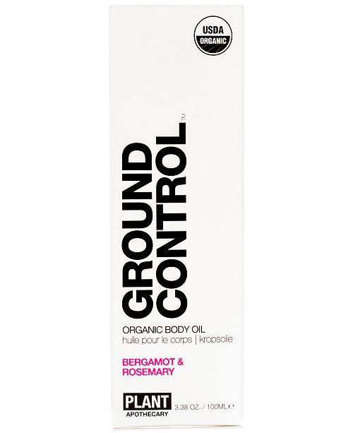 PLANT Apothecary Ground Control Organic Body Oil