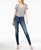 7a8c6574f9a Hudson Jeans High Waisted Skinny Jeans: Shop High Waisted Skinny ...