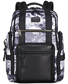 Tumi Men's Alpha Bravo Printed Sheppard Deluxe Backpack