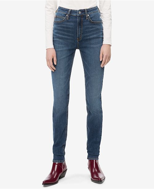 3aee4ca85 ... Calvin Klein Jeans High-Rise Skinny Jeans