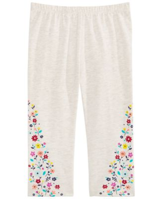 Baby Girls Floral-Print Leggings, Created for Macy's