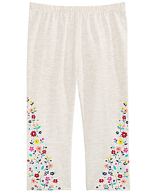 First Impressions Toddler Girls Floral Leggings, Created for Macy's