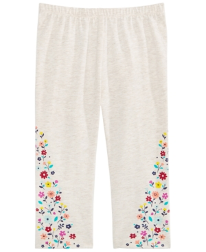 First Impressions Toddler Girls Floral Leggings Created for Macys