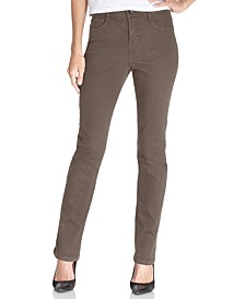 Petite Tummy-Control Slim-Leg Jeans, Created for Macy's
