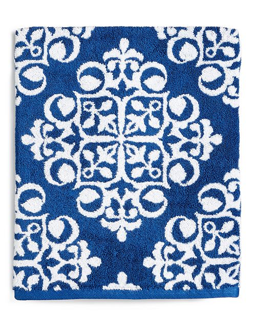 Charter Club CLOSEOUT! Elite Cotton Medallion Towel Collection, Created for Macy's