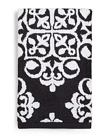 Charter Club Elite Fashion Medallion Cotton Hand Towel, Created for Macy's