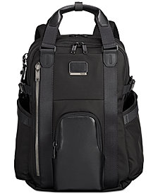 Tumi Men's Alpha Bravo Kings Backpack Tote