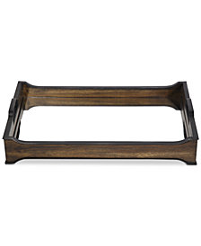 Uttermost Sylvie Mirror And Wood Tray