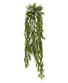 "2-Pc. 43"" Mini Bamboo  Artificial Hanging Bush Set"