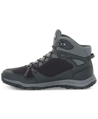 Jack Wolfskin Men's Activate Mid Texapore Waterproof Hiking Boots from Eastern Mountain Sports