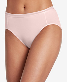 Jockey Supima Cotton Allure Hi Cut 1626, Created for Macy's