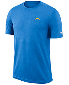 Nike Men's Los Angeles Chargers Coaches T-Shirt