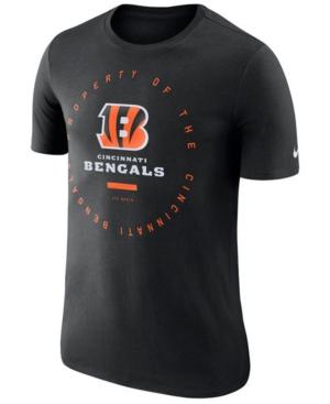 Nike Men's Cincinnati Bengals Property Of T-Shirt 2018