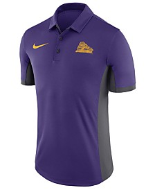 Nike Men's LSU Tigers Vault Logo Evergreen Polo