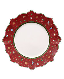 Villeroy & Boch Toy's Delight Red Dinner Plate