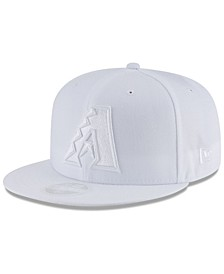 Arizona Diamondbacks White Out 59FIFTY FITTED Cap