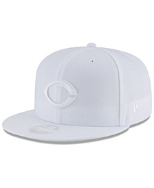 Cincinnati Reds White Out 59FIFTY FITTED Cap