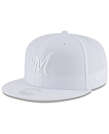 Milwaukee Brewers White Out 59FIFTY FITTED Cap