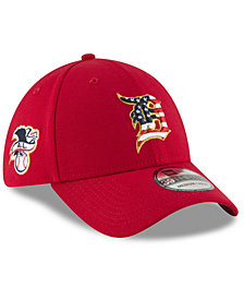 New Era Detroit Tigers Stars and Stripes 39THIRTY Cap