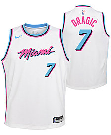 Nike Goran Dragic Miami Heat City Edition Swingman Jersey, Big Boys (8-20)