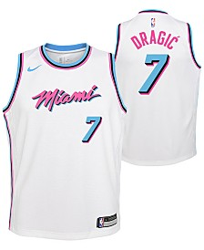 Nike Goran Dragic Miami Heat City Edition Swingman Jersey, Big Boys (8-20)