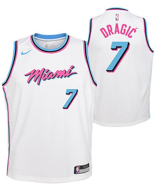 buy popular ebbe4 f545a Goran Dragic Miami Heat City Edition Swingman Jersey, Big Boys (8-20)