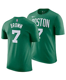 Nike Jaylen Brown Boston Celtics Icon Name and Number T-Shirt, Big Boys (8-20)