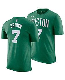 Nike Jaylen Brown Boston Celtics Icon Name and Number T-Shirt, Big Boys (8-20)