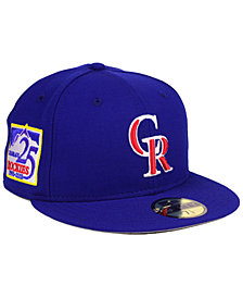 New Era Colorado Rockies Anniversary Pack 59FIFTY Fitted Cap 2018