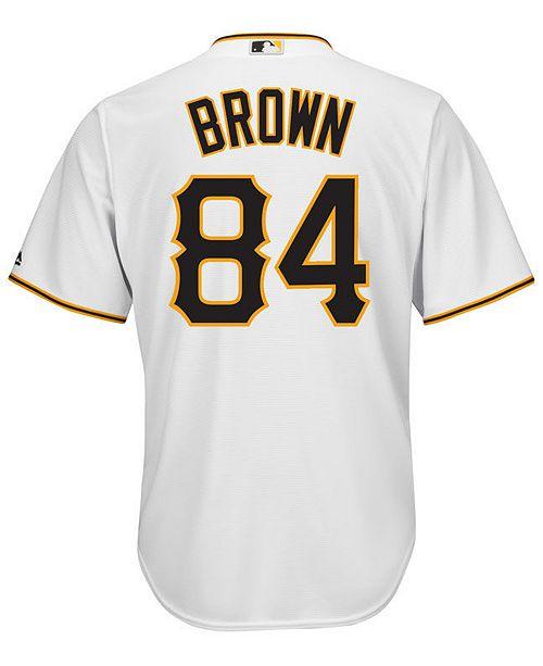 differently 6e16f ce8e3 Majestic Men's Antonio Brown Pittsburgh Pirates NFLPA ...