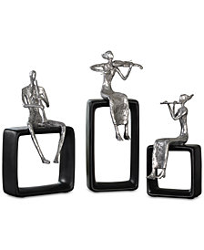 Uttermost Musical Ensemble Set of 3 Statues