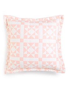 "CLOSEOUT! Calvin Klein Abigail 18"" x 18"" Decorative Pillow, New & First at Macy's"