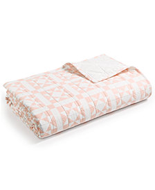 CLOSEOUT! Calvin Klein Abigail Queen Quilt, New & First at Macy's