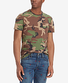 Polo Ralph Lauren Men's Big & Tall Classic Fit Camouflage Cotton T-Shirt