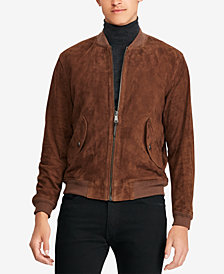 Polo Ralph Lauren Men's Suede Bomber Jacket