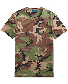 Polo Ralph Lauren Men's Camouflage Cotton Custom Slim Fit T-Shirt